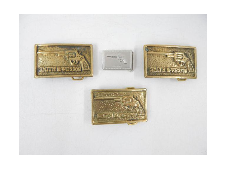 Gun Themed Belt Buckles