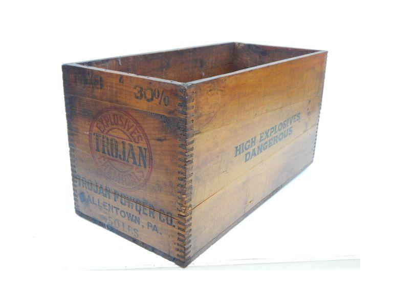 Wooden Explosion Crate