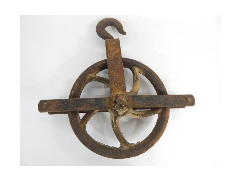 Antique Rope Pulley
