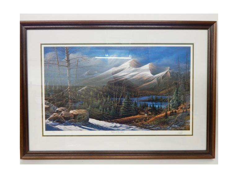 Terry Redlin Signed Print