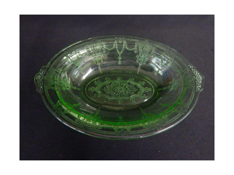 Vaseline Depression Glass