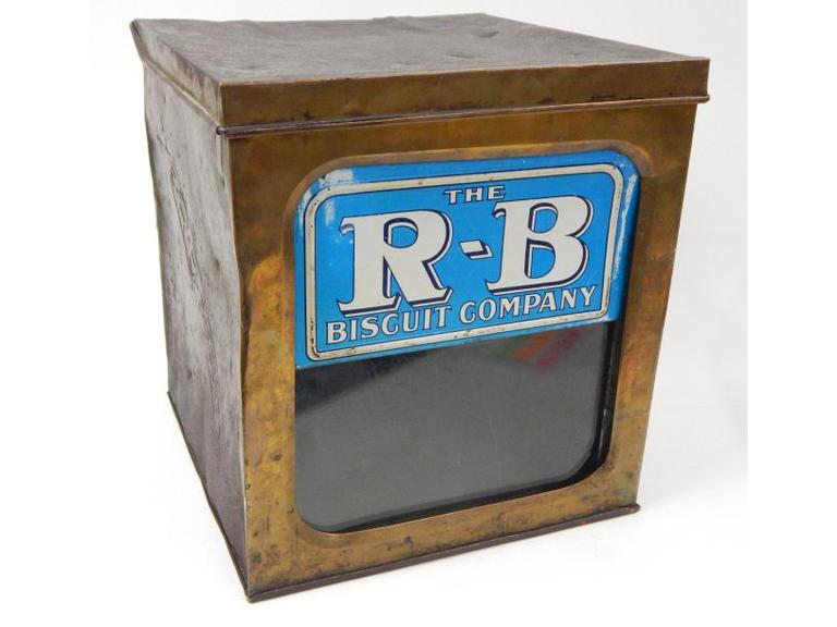 Antique R-B Biscuit Tin