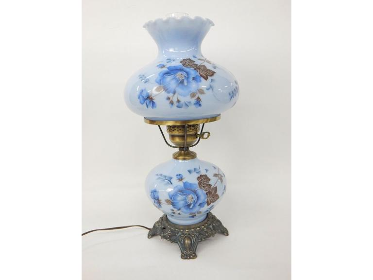 Glass Parlor Lamp
