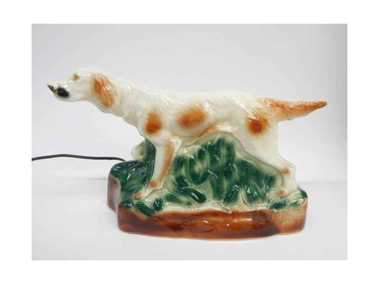 Hunting Dog TV Lamp