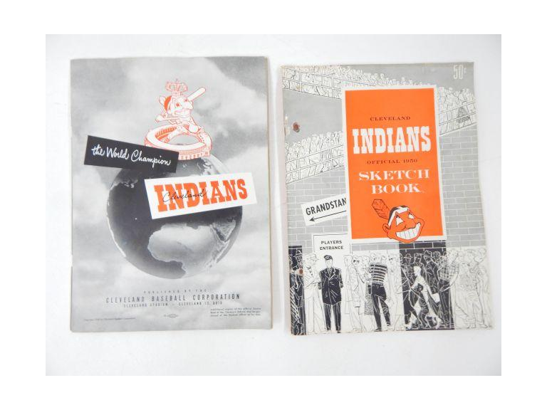 1949-1950 Indians Books