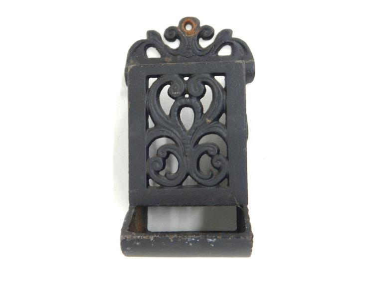 Cast Iron Match Holder