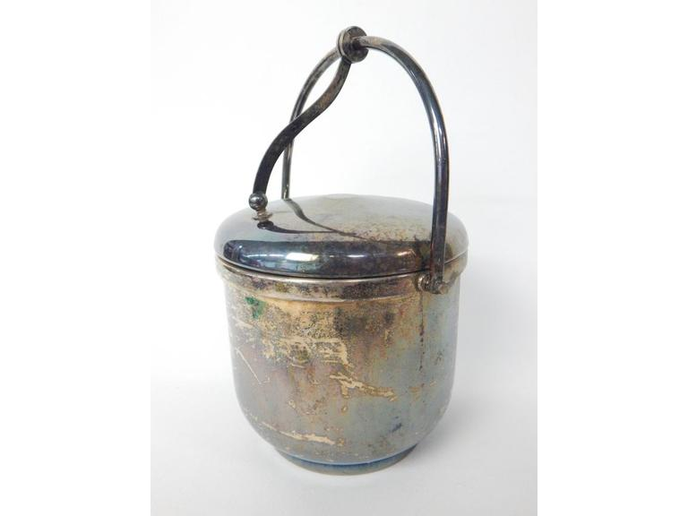 Silver-Plate Ice Bucket