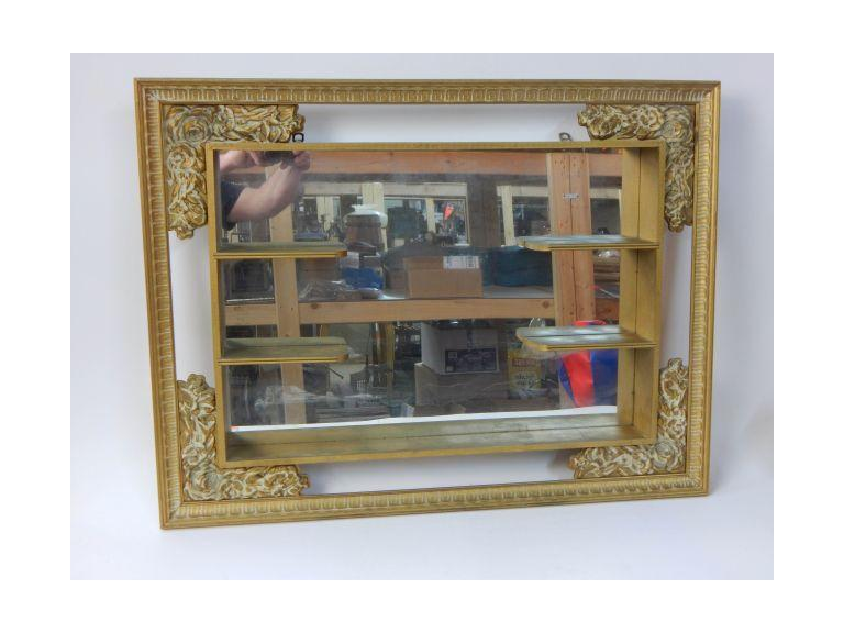 Vintage Shelf Mirror