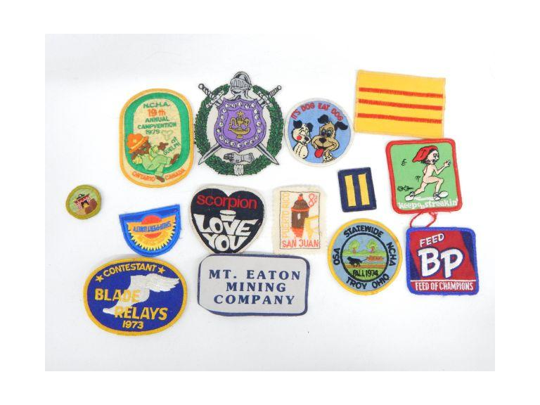 Old Cloth Patches
