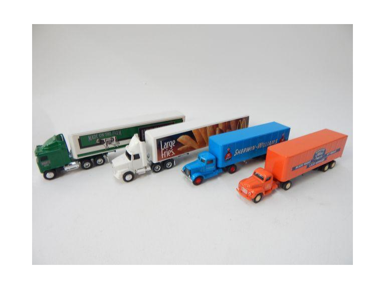 Die-Cast Semi Trucks