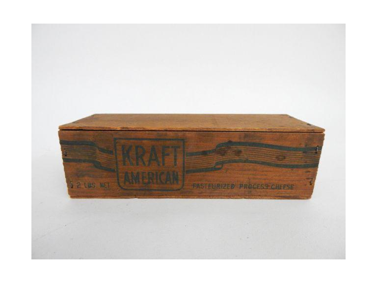 Kraft Wooden Cheese Box