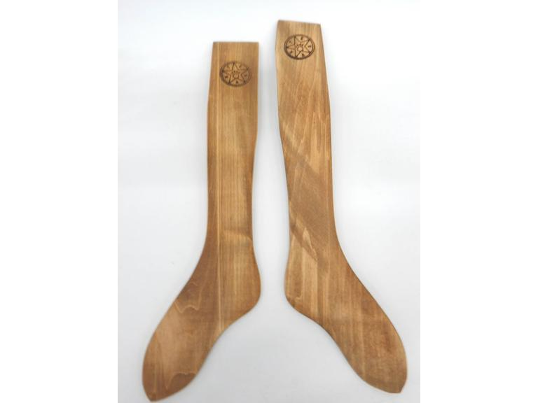 Wooden Sock Forms