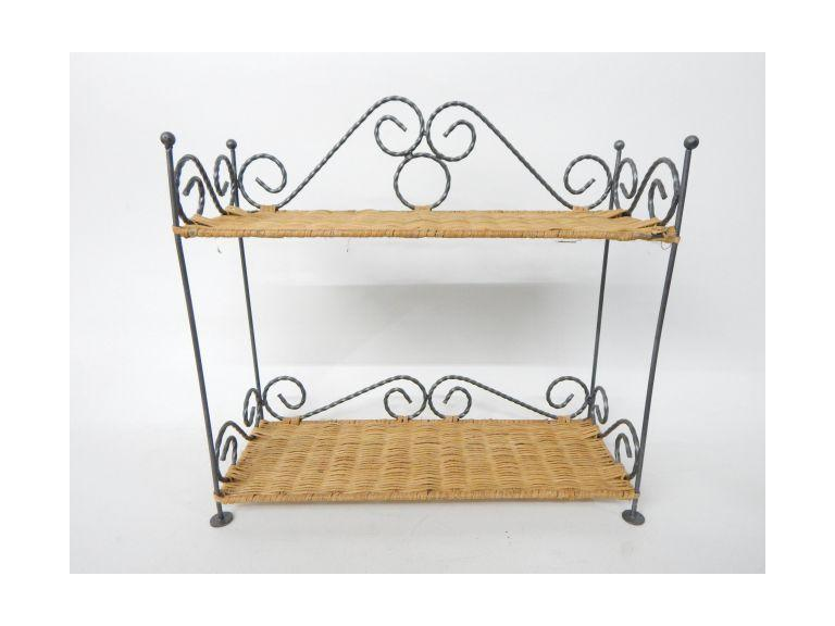 Wire Wicker Shelf