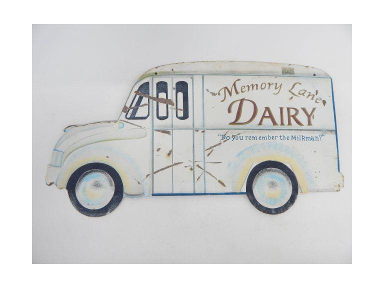 Dairy Advertising Sign