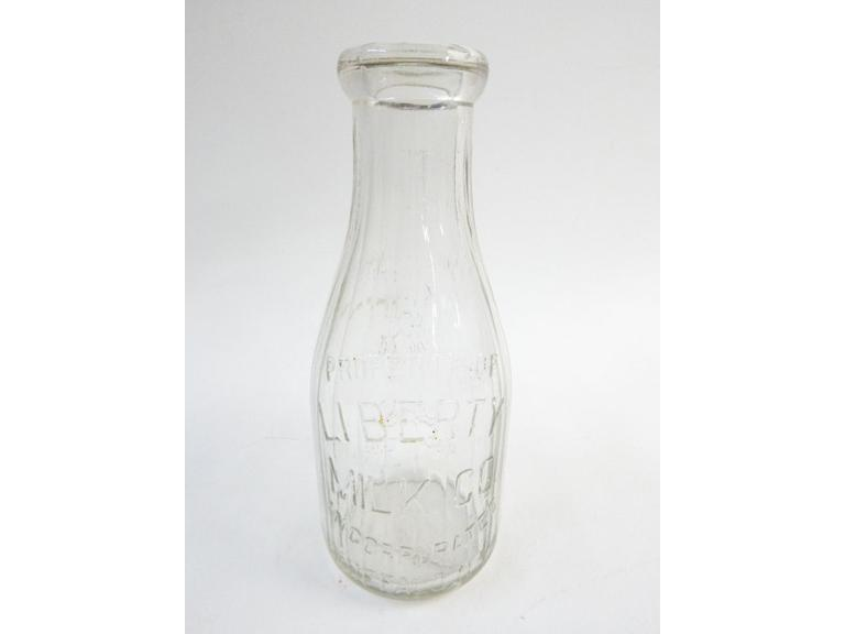 Liberty Milk Bottle