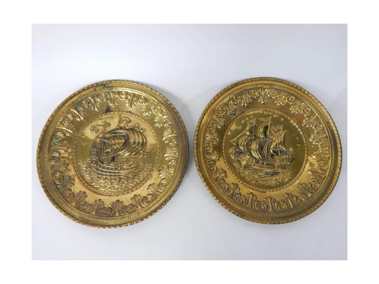 Brass Nautical Plates