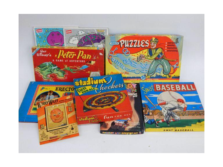 Old Games and Puzzles