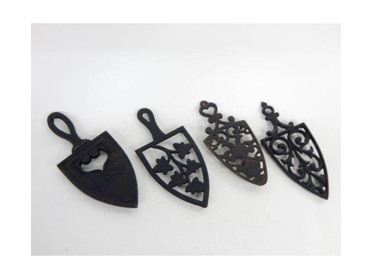 Cast Iron Sad Iron Trivets