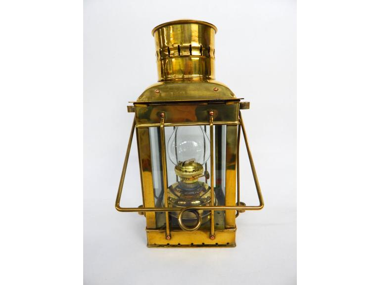 Brass Ships Oil Lantern