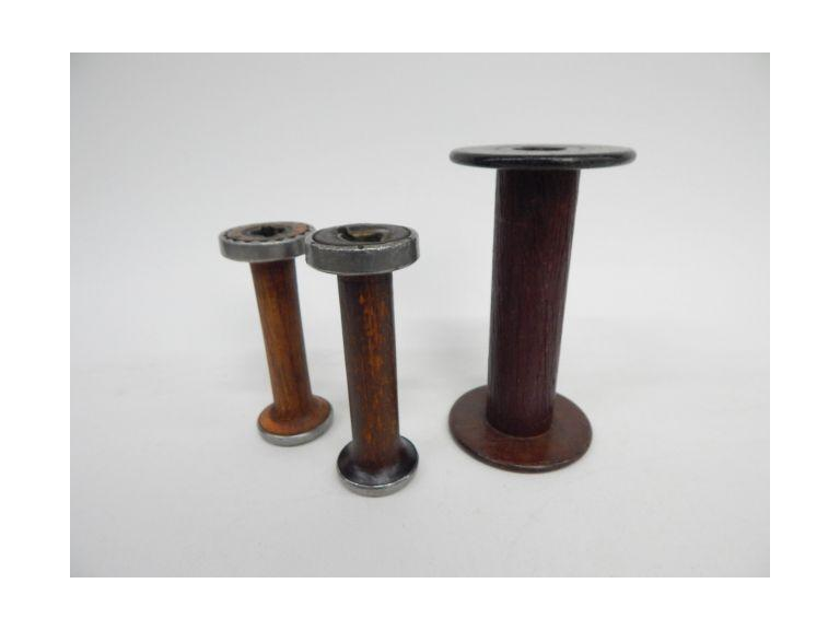 Antique Thread Bobbins