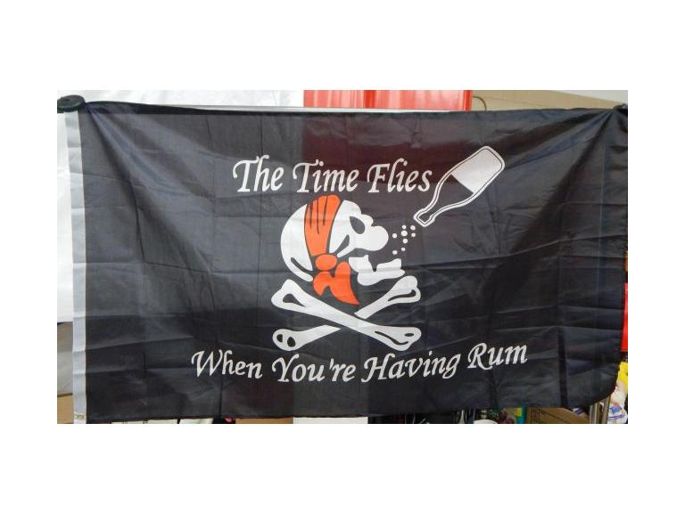 Humorous Pirate Flag