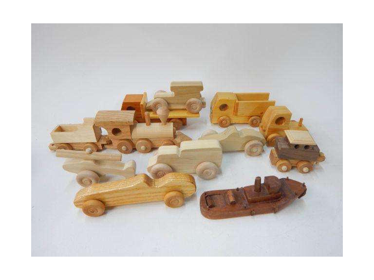 Hand Crafted Wood Toys