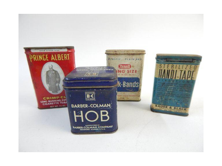 Advertising Tins Lot