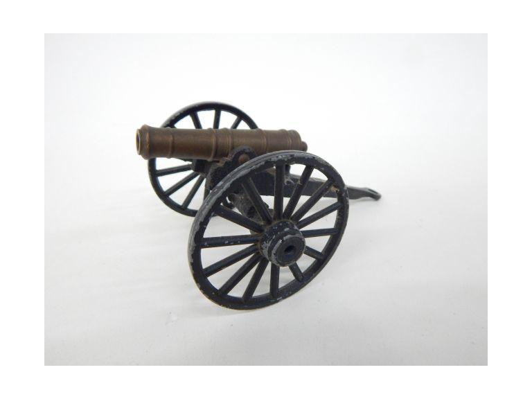 Small Brass Cannon