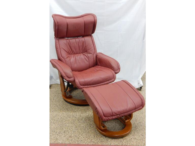 Groovy Route 8 Auctions Benchmaster Leather Chair Short Links Chair Design For Home Short Linksinfo