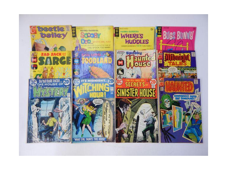 Vintage Cartoon Comics