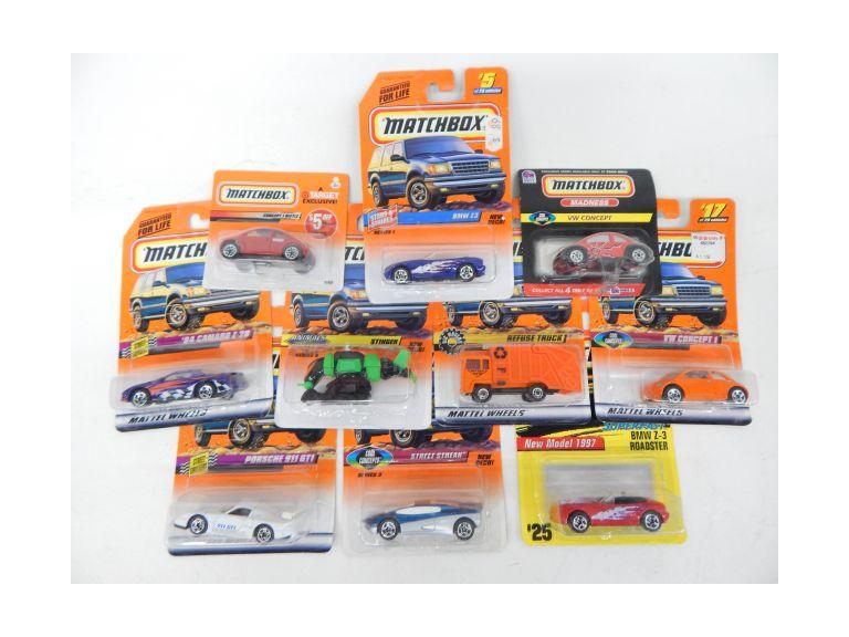New Matchbox Cars