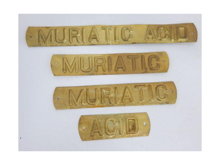 Brass Name Plaques