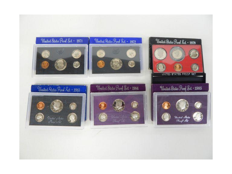 U.S. Coin Proof Sets