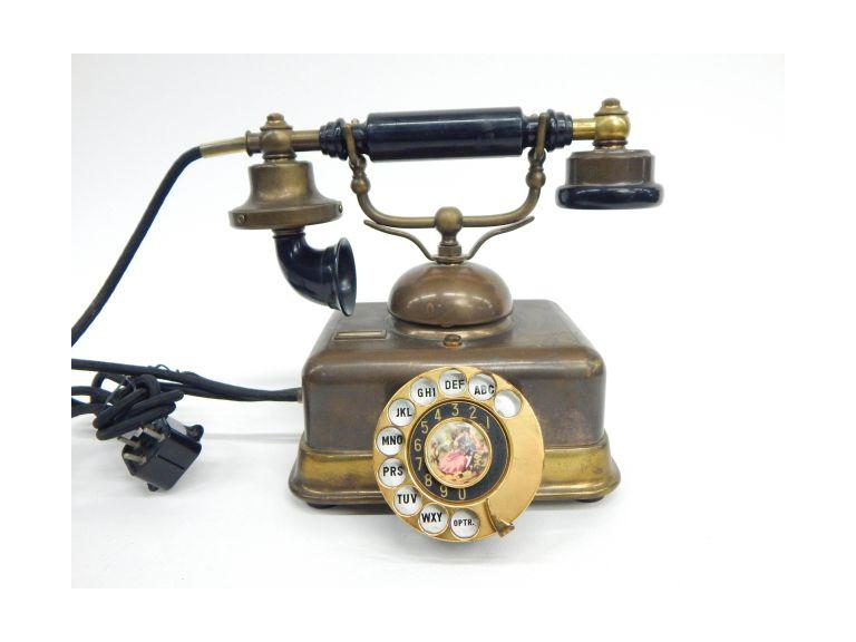 Brass Dial Telephone