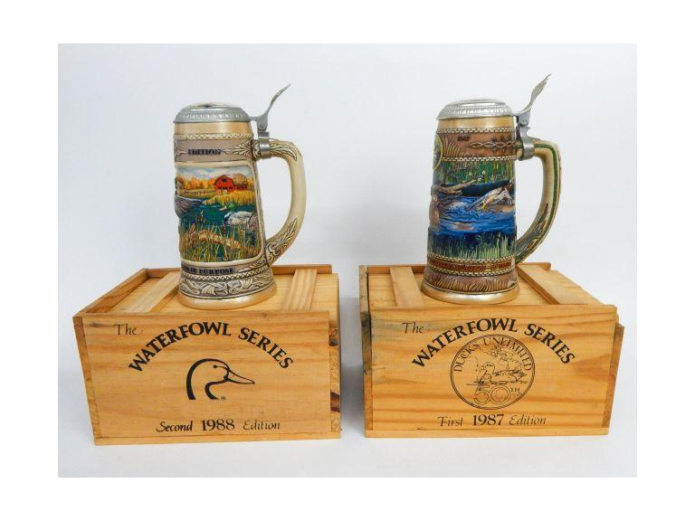 Ducks Unlimited Steins