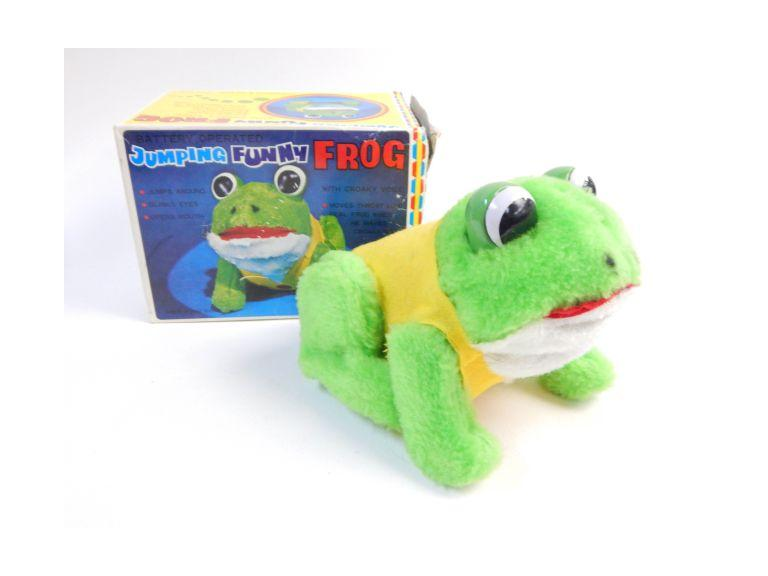 Japan Frog Battery Toy
