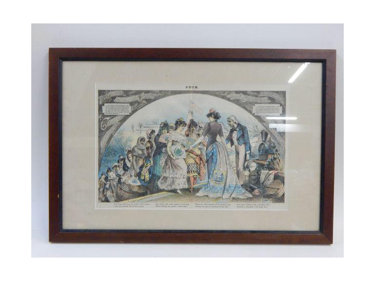 Framed Lithograph Print