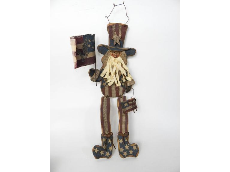 Uncle Sam Jointed Figure