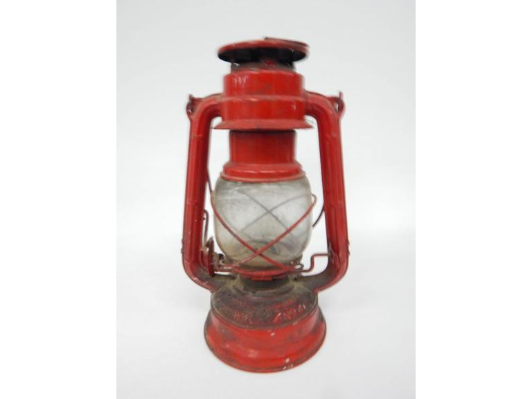 Winged Wheel Lantern