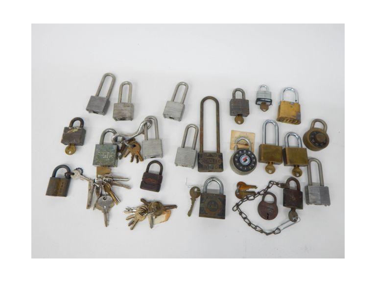 Old Padlocks and Keys