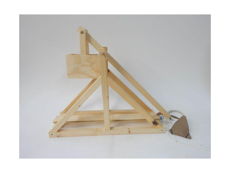 Wooden Toy Catapult