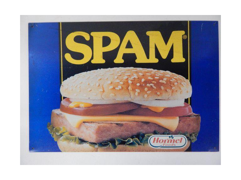 Spam Advertising Sign