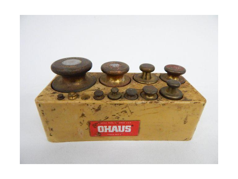 Brass Scale Weights