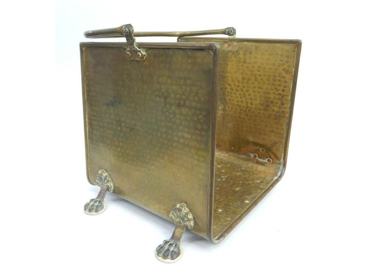 Brass Log Holder