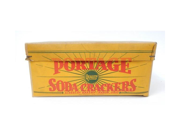 Portage Cracker Box