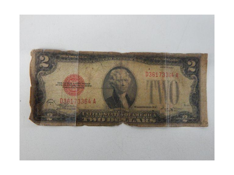 1928 Two Dollar Bill