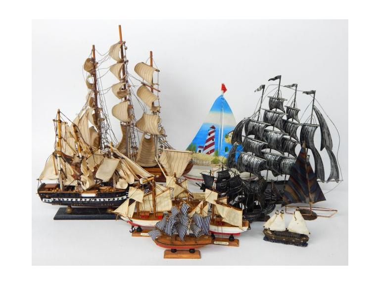 Ship Model Collection