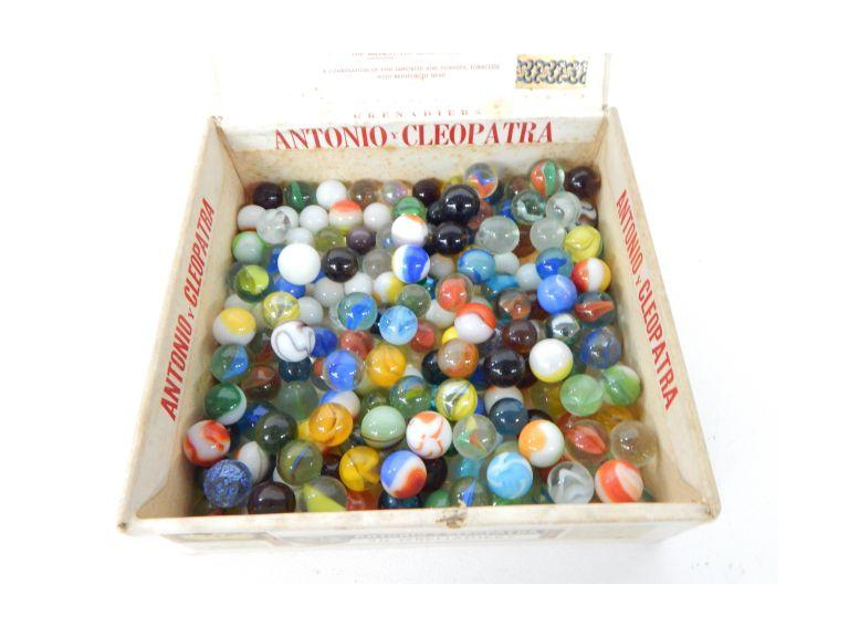Box of Glass Marbles