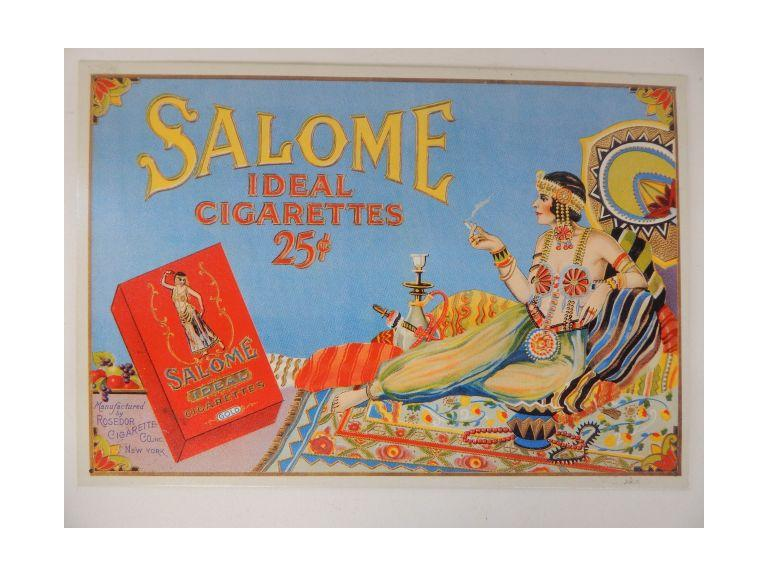 Salome Cigarette Sign