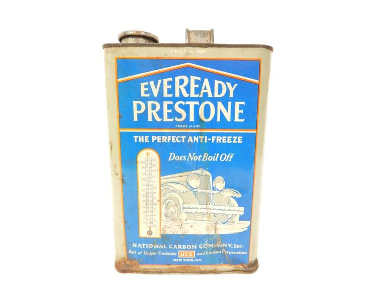 Eveready Anti-freeze Tin
